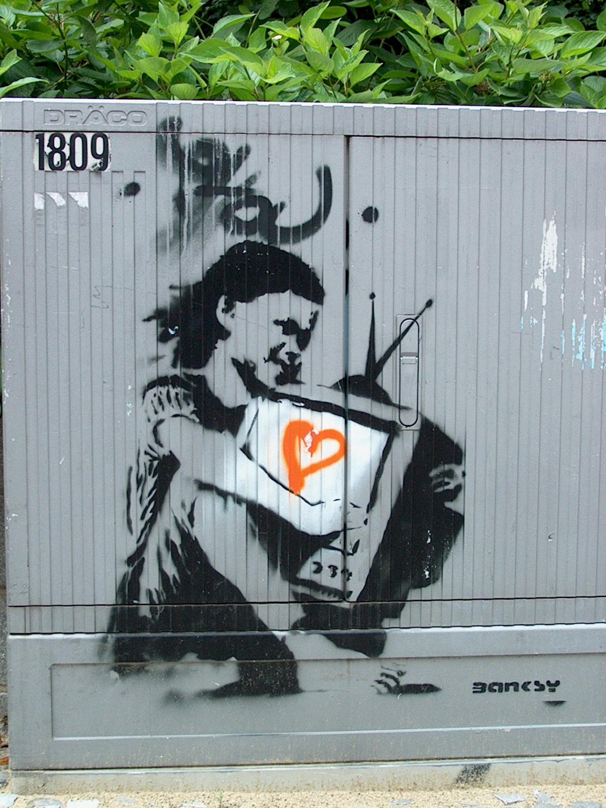 Banksy DE Berlin