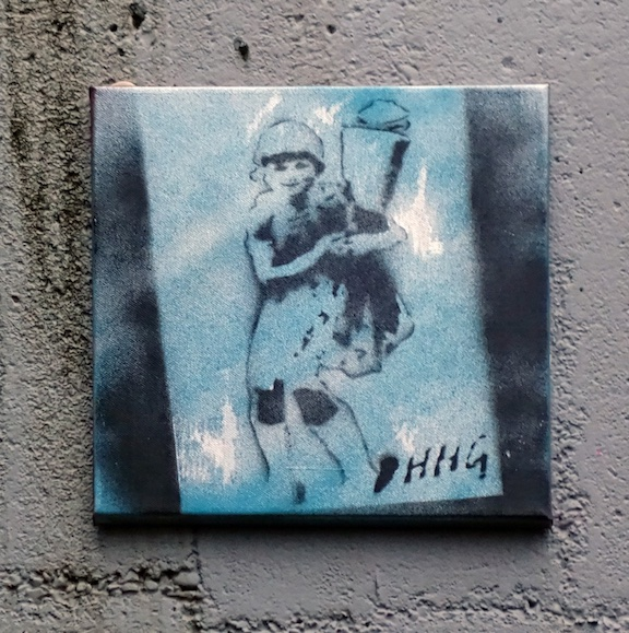 DHHG girl on tile