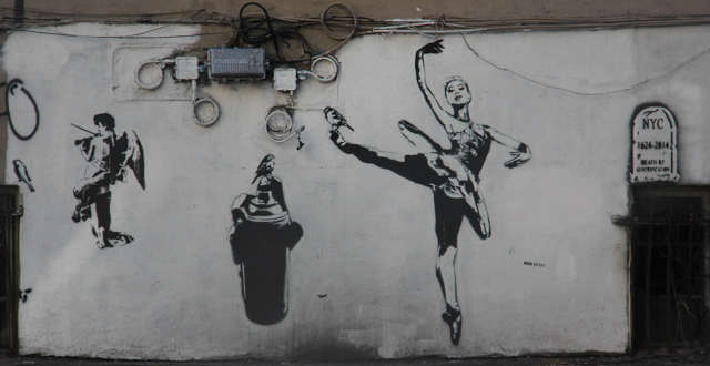 BLEK NYC ballerina can angel