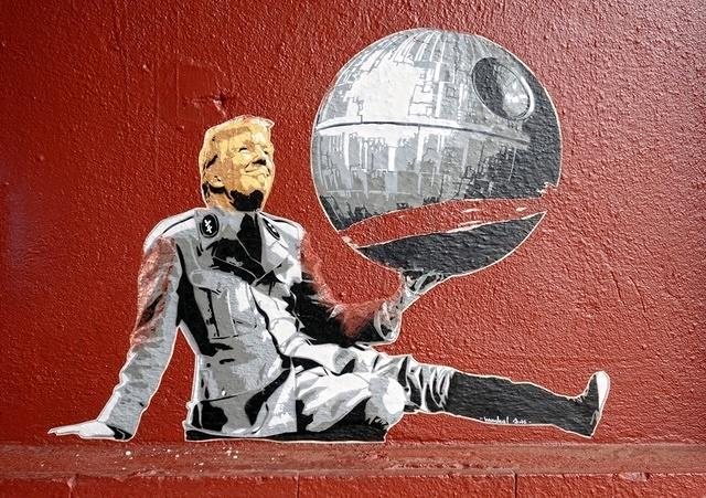 Marshal Arts Trump Little Star Wars Dictator
