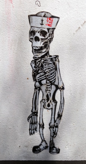 robi the dog skeleton