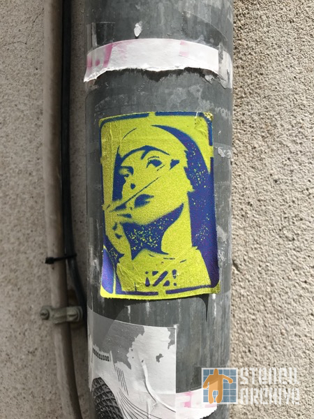FR Paris Butte Aux Cailles Z sticker