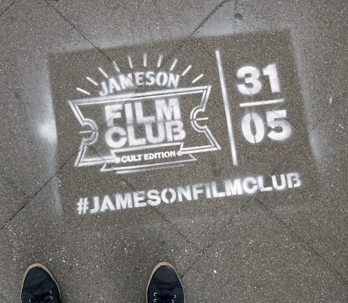 DE Hamburg advert Film Club