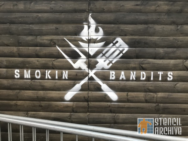 UK London Smokin Bandits logo