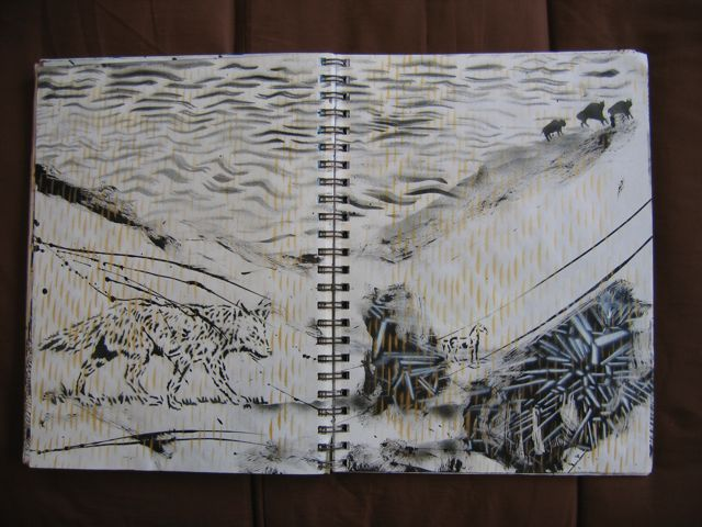 ScottWilliams_CaliforniaGlory_sketchbook79