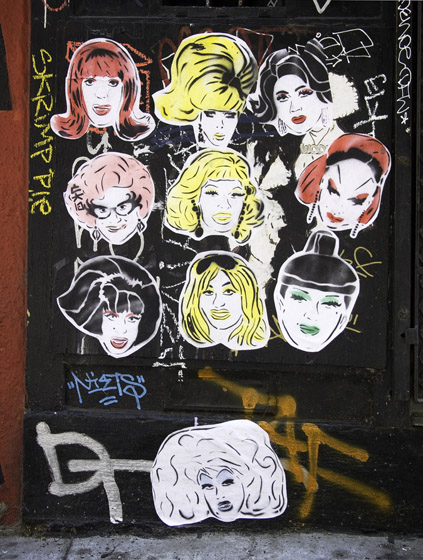 CAB drag queen stickers 04
