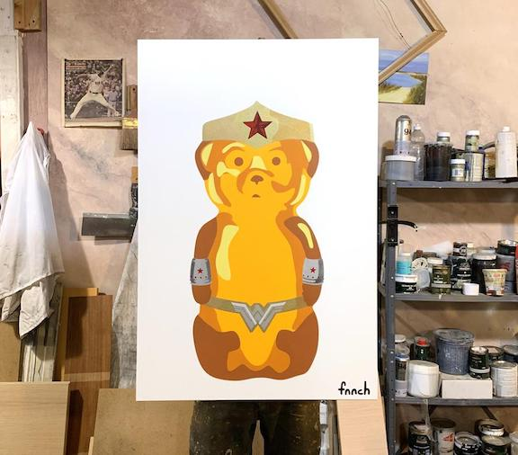 fnnch Wonder Woman bear