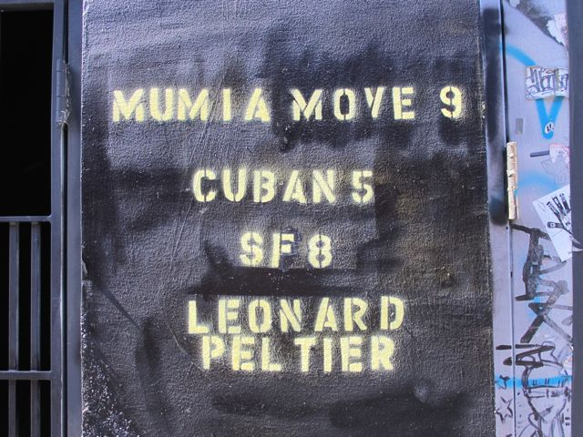 SF Clarion Alley Mumia