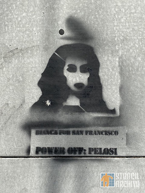 SF Lower Haight Power Off Pelosi