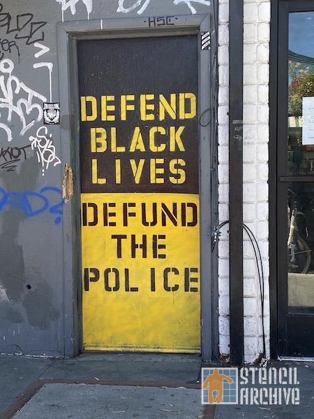 SF Upper Haight Defend Black Lives