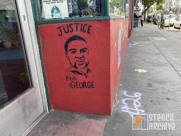 SF Upper Haight Justice for George Floyd