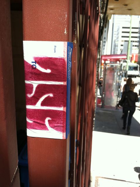 SF Misc China Town YSL sticker
