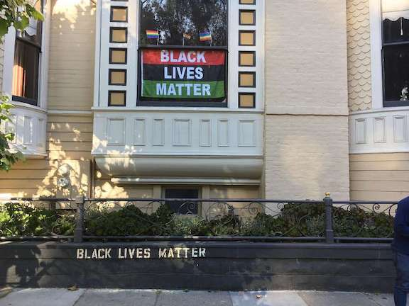 SF Other Pacicific Heights Black Lives Matter