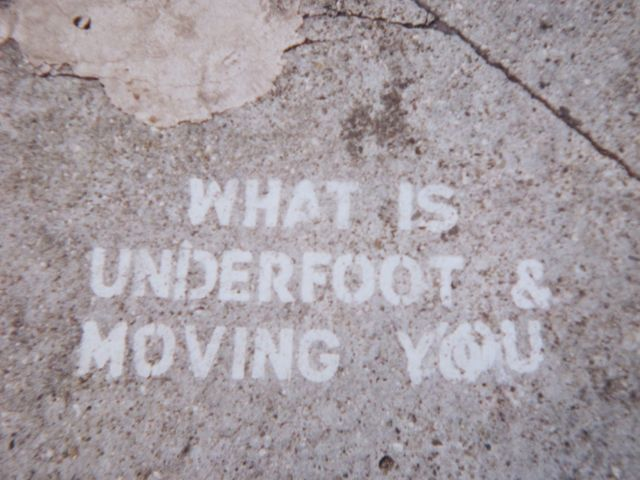 SF Castro c. 2000 What is Underfoot