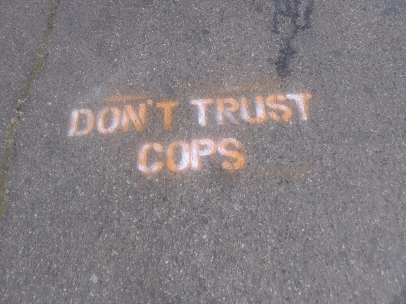 SF Mission Dont Trust Cops