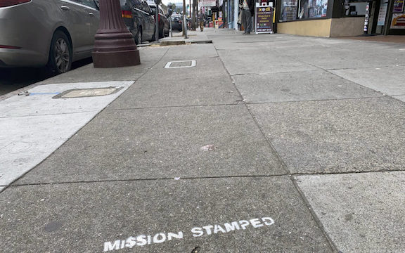 SF Mission Stamped