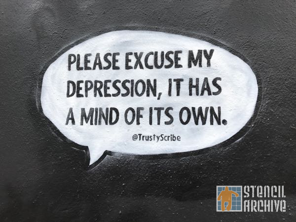 SF Mission TrustyScribe Excuse My Depression