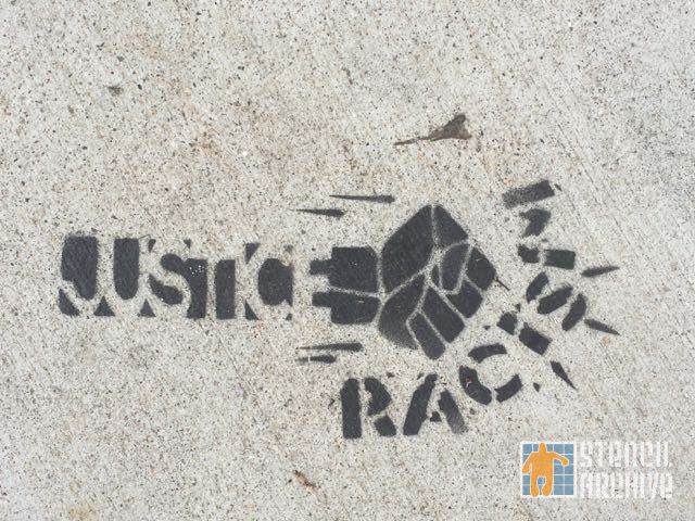 SF Mission Justice Smash Racism
