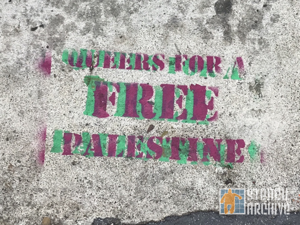 SF Valencia Queers for Free Palestine