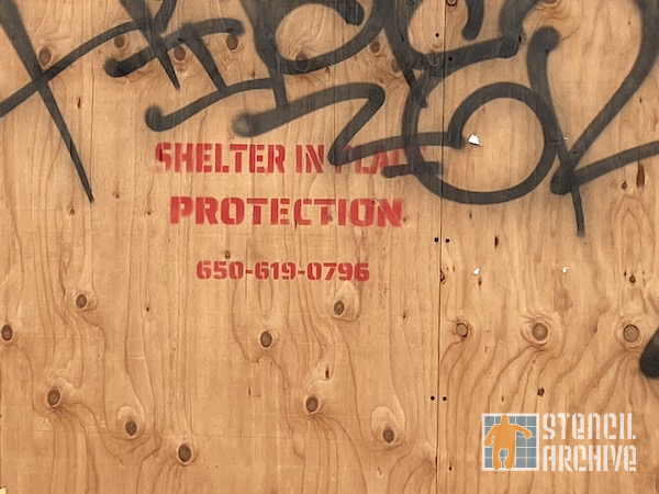 SF Western Addition Shelter in Place Advert