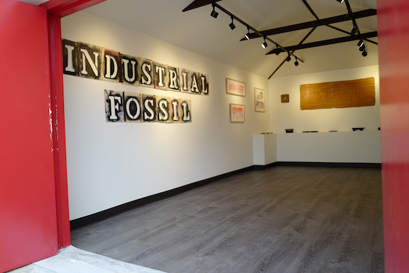 John Fekner Industrial Fossil cut out photo Icy and Sot for BSA