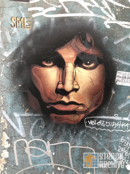 SMiLE FR Paris Butte aux Cailles Jim Morrison
