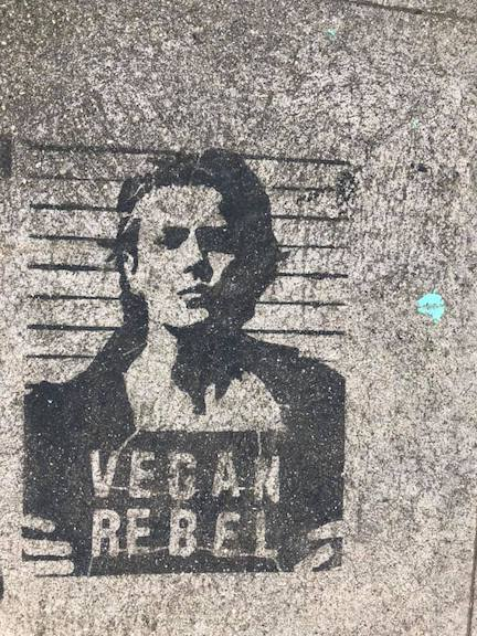 LA CA Vegan Rebel