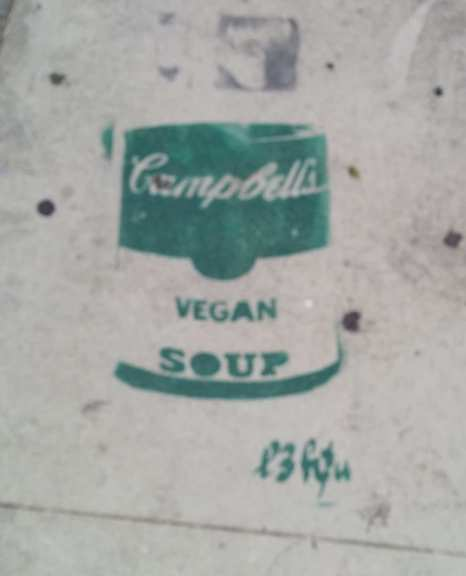 LA CA lefou Vegan soup can