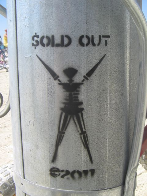 Burning Man 2011 Bman SOLD OUT
