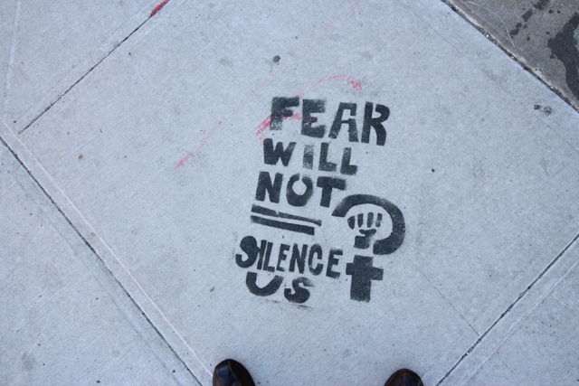 NYC Fear will not silence us