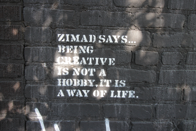 NYC Zimad says being creative