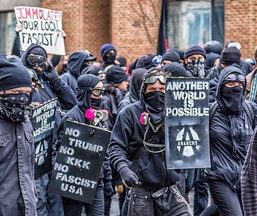 Wash DC J20 Circle A Antifa