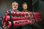 AU Brisbane carbon bomb Aurizon protest