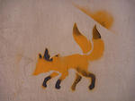 CA Toronto two tailed fox