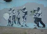 Banksy New Orleans Second Line