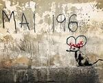 Banksy Paris 2018 Mai 1968 to Disney