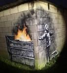 Banksy UK So Wales Coal Dust