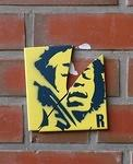 Rumo Jimi Hendrix on tile