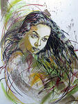 C215 Indoor wallpainting_detail
