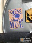 FR Paris Belleville cow sticker
