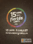 FR Paris La Marais LGBT Pride week advert