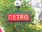 FR Paris Metro sign Louise Fili