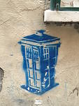IT Florence Doctor Who TARDIS