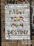 UK London Brick Ln NS Paint Your Own Destiny