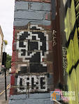 UK London Brick Ln bitmap like