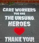 UK London COVID-19 Care Workers Heroes