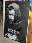 IR A1one little girl