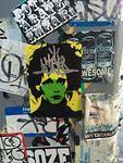 Har2ung sticker edward scissorhands
