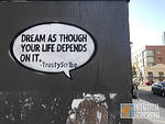 TrustyScribe Dream as though your life