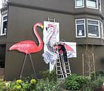 fnnch large flamingos cut out
